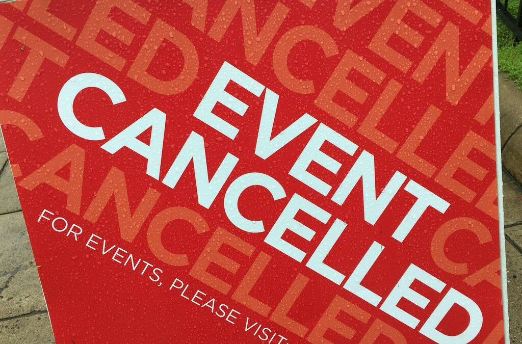 All On-campus Spring Programs Cancelled