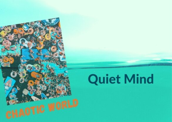 Diamond Mountain Chaotic World Quiet Mind